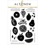 Altenew - Clear Acrylic Stamps - Simple Fruits
