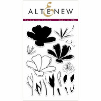 Altenew - Clear Photopolymer Stamps - Springtime Azalea