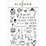 Altenew - Clear Acrylic Stamps - Tea Time