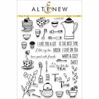 Altenew - Clear Photopolymer Stamps - Tea Time