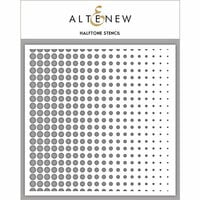 Altenew - Stencil - Halftone