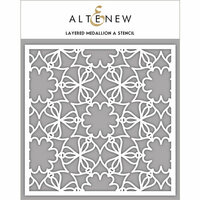 Altenew - Stencil - Layered Medallion A
