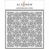 Altenew - Stencil - Layered Medallion A