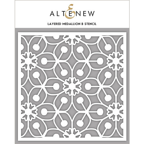 Altenew - Stencil - Layered Medallion B