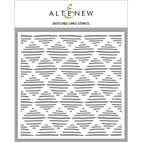 Altenew - Stencil - Sketched Lines