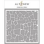 Altenew - Stencil - Stone Wall