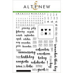 Altenew - Clear Acrylic Stamps - 365