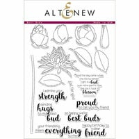 Altenew - Clear Photopolymer Stamps - Best Buds