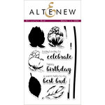 Altenew - Clear Photopolymer Stamps - Blissful Bud