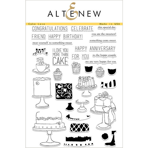 Altenew - Clear Photopolymer Stamps - Cake Love