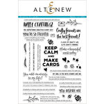 Altenew - Clear Acrylic Stamps - Crafty Friends