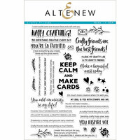 Altenew - Clear Photopolymer Stamps - Crafty Friends