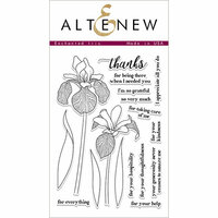 Altenew - Clear Photopolymer Stamps - Enchanted Iris
