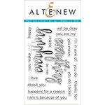 Altenew - Clear Acrylic Stamps - Halftone Everything