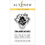 Altenew - Clear Photopolymer Stamps - Ice Cream