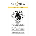 Altenew - Clear Acrylic Stamps - Ice Cream