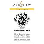 Altenew - Clear Acrylic Stamps - Ice Cream