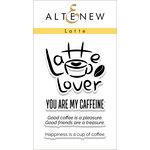 Altenew - Clear Acrylic Stamps - Latte