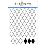 Altenew - Clear Acrylic Stamps - Pattern Play - Diamond