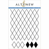 Altenew - Clear Photopolymer Stamps - Pattern Play - Diamond