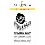 Altenew - Clear Acrylic Stamps - Strawberry
