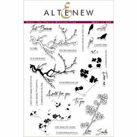 Altenew - Clear Photopolymer Stamps - Under the Cherry Blossom Tree