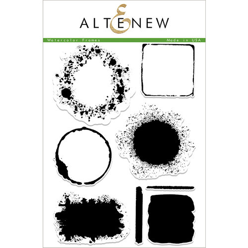 Altenew - Clear Photopolymer Stamps - Watercolor Frames