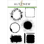 Altenew - Clear Acrylic Stamps - Watercolor Frames