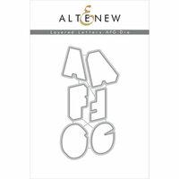 Altenew - Layering Dies - Letters AFG Set