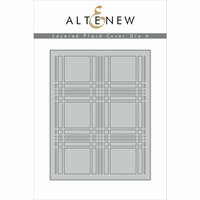 Altenew - Layering Dies - Plaid Cover A