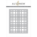 Altenew - Layering Dies - Plaid Cover B