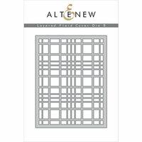 Altenew - Layering Dies - Plaid Cover B