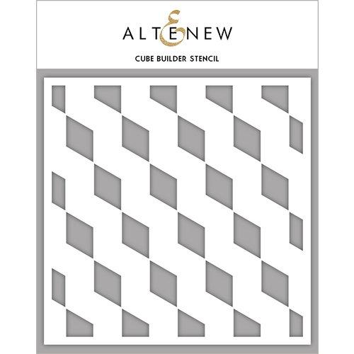 Altenew - Stencil - Cube Builder