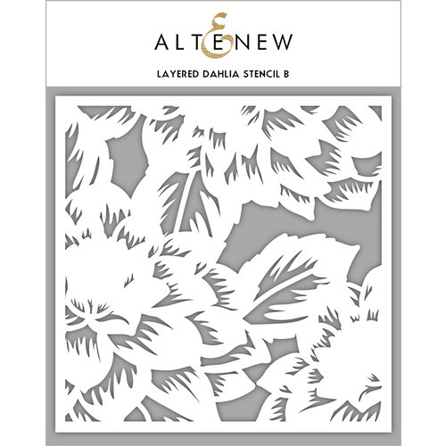 Altenew - Stencil - Layered Dahlia B