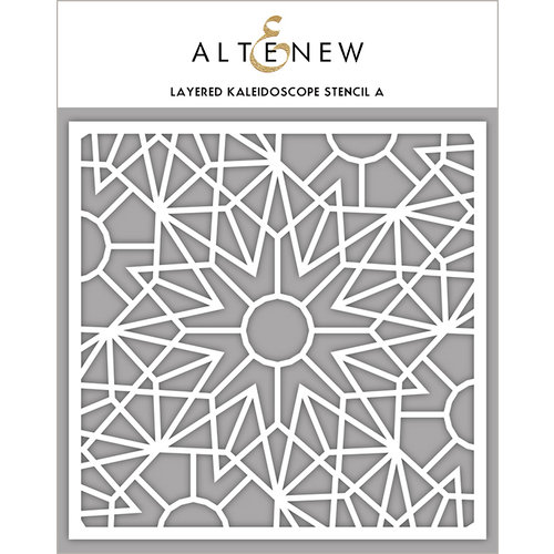Altenew - Stencil - Layered Kaleidoscope A