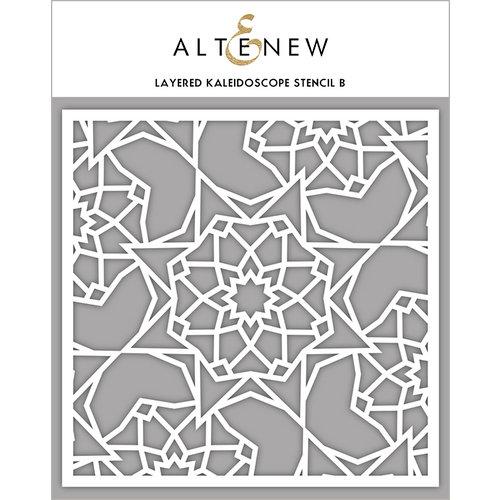 Altenew - Stencil - Layered Kaleidoscope B