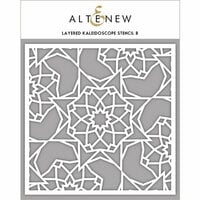 Altenew - Stencil - Layered Kaleidoscope B