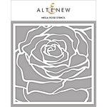 Altenew - Stencil - Mega Rose