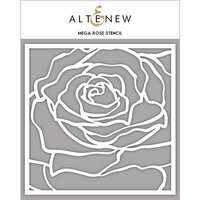 Altenew - Stencil - Mega Rose