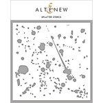 Altenew - Stencil - Splatter