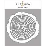 Altenew - Stencil - Tree Ring