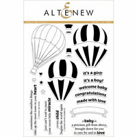 Altenew - Clear Photopolymer Stamps - Baby Balloon