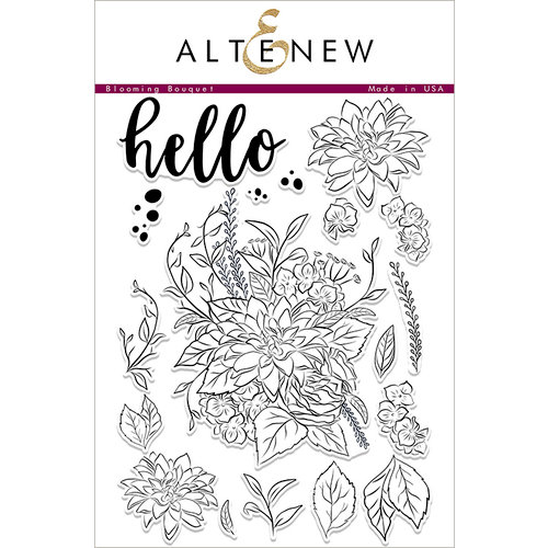 Altenew - Clear Acrylic Stamps - Blooming Bouquet