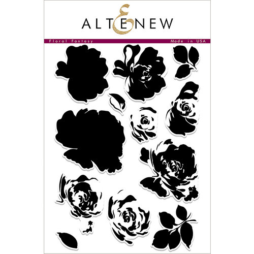 Altenew - Clear Acrylic Stamps - Floral Fantasy