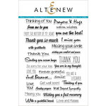 Altenew - Clear Acrylic Stamps - Heartfelt Sentiments