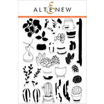 Altenew - Clear Acrylic Stamps - Indoor Garden