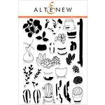 Altenew - Clear Acrylic Stamps - Indoor Garden