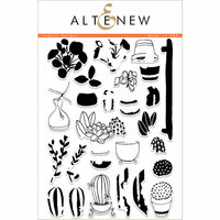 Altenew - Clear Photopolymer Stamps - Indoor Garden