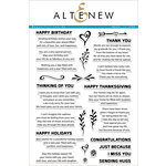 Altenew - Clear Acrylic Stamps - Beautiful Inside