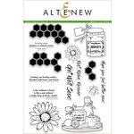 Altenew - Clear Acrylic Stamps - Get Well Soon
